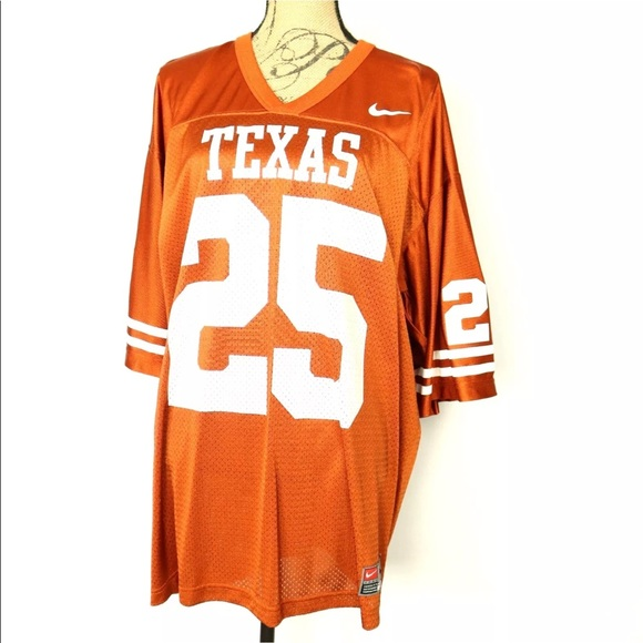hot sale online b484e 766af Texas Longhorns #25 Football Jersey Adult XL Nike
